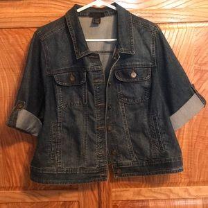 Jean jacket from Lane Bryant